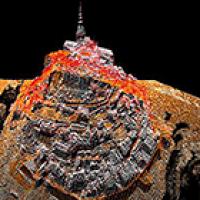 Nuage de points - Mont Saint-Michel ©IGN